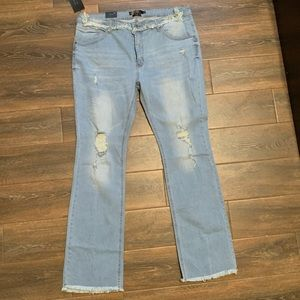 Lucky & Blessed Fit n Flare Jeans *New with tags*
